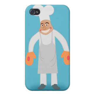 Happy Chef Case For iPhone 4