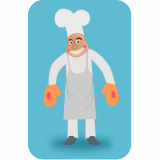 Happy Chef Cut Out