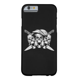 Happy Chef Skulls Knives v2 Barely There iPhone 6 Case
