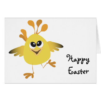 Happy Chick Greeting Card