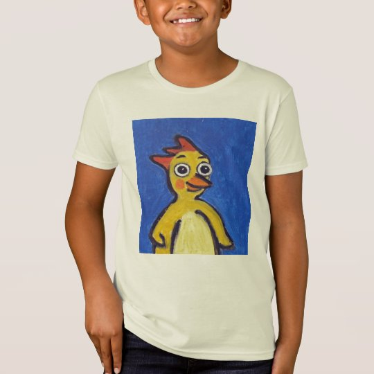 Happy Chicken Organic T Shirt for Kids