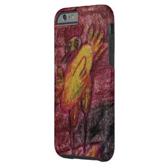 """""""Happy chiken"""" Barely There iPhone 6 Case"""