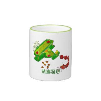 Happy Chinese New Year 恭喜發財Mug Ringer Mug