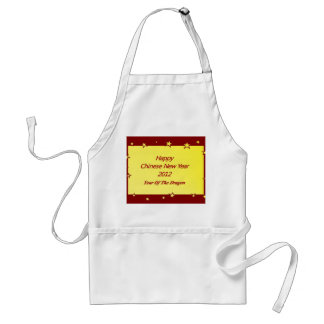 Happy Chinese New Year 2012 Aprons