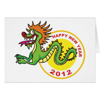 Happy Chinese New Year 2012 Card