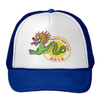 Happy Chinese New Year 2012 Mesh Hats