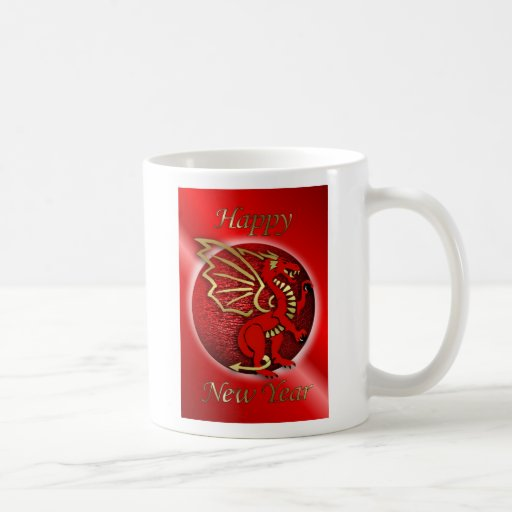 Happy Chinese New Year of the dragon Vietnam tet Mugs