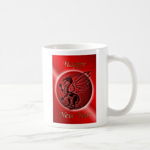 Happy Chinese New Year of the dragon Vietnam tet Coffee Mug