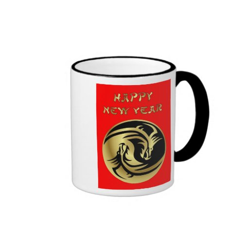 Happy Chinese New Year of the Dragon Vietnamese Coffee Mug