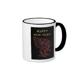 Happy Chinese New Year of the Dragon Vietnamese Ringer Mug