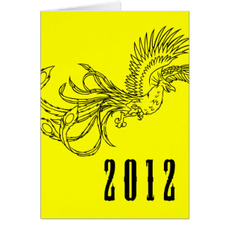 happy chinese new year : year of the dragon note card