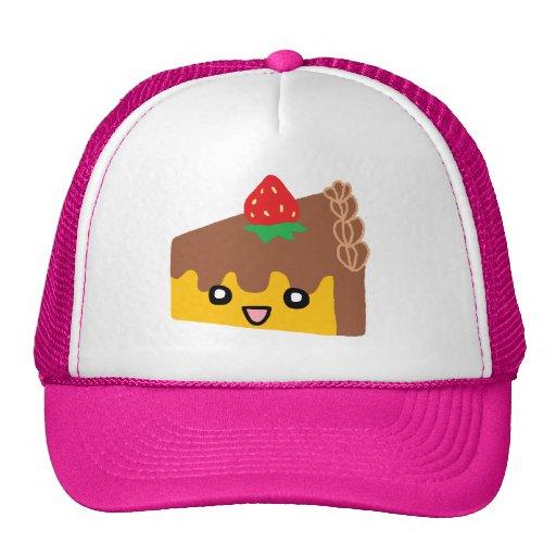 Happy Chocolate Cake Trucker Hat