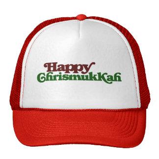 Happy Chrismukkah Cap