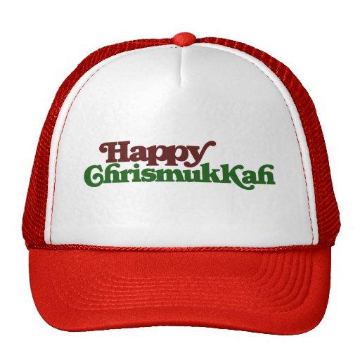 Happy Chrismukkah Hat