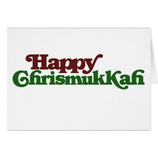 Happy Chrismukkah Stationery Note Card