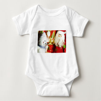 Happy Christmas Baby Bodysuit