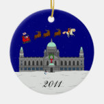 Happy Christmas (Belfast City Hall) Christmas Ornaments