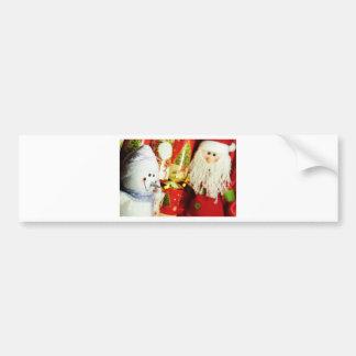 Happy Christmas Bumper Sticker