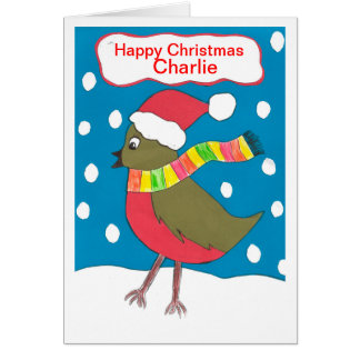 Happy Christmas Charlie Card