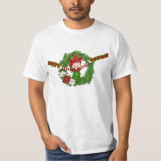 Happy Christmas Elf T-Shirt