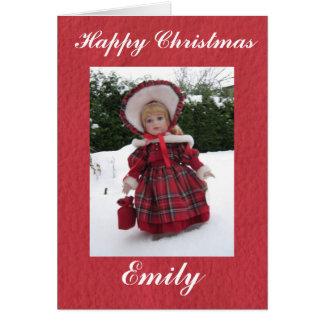 Happy Christmas Emily Card