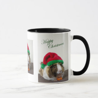 Happy Christmas Guinea Pig Mug
