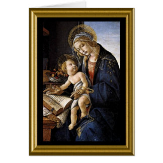 Happy Christmas - Madonna & Child Card
