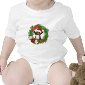 Happy Christmas Penguin T Shirts