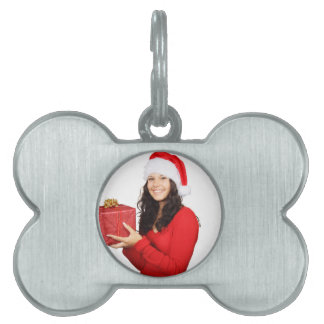 Happy Christmas! Pet Name Tag