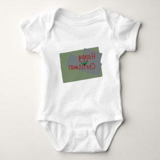 Happy christmas Tee-shirt Baby Bodysuit