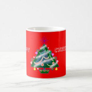 Happy Christmas Tree Mug