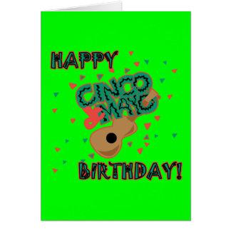 Happy Cinco de Mayo Birthday! Card