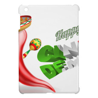 Happy Cinco De Mayo Chilli Pepper Design iPad Mini Covers