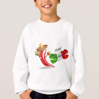 Happy Cinco De Mayo Chilli Pepper Design Sweatshirt
