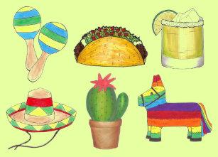 Cinco De Mayo Gift Tags | Zazzle.co.uk