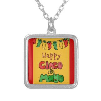 Happy Cinco de Mayo Custom Necklace