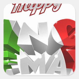 Happy Cinco De Mayo Square Sticker