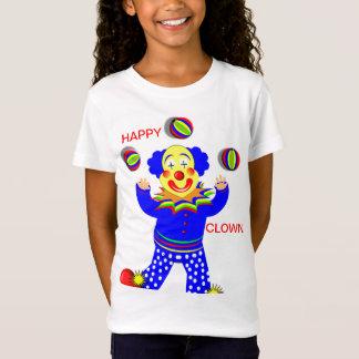 Happy Circus Clown Juggling T-Shirt