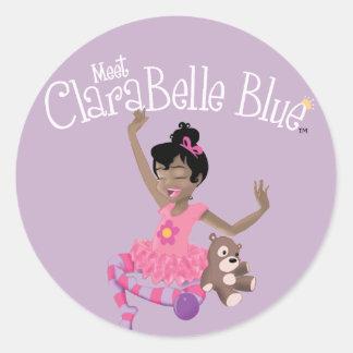 Happy ClaraBelle Sticker