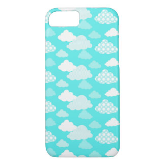 Happy Cloud Pattern Phone Case