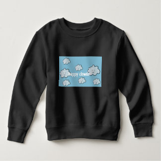 happy clouds sweatshirt