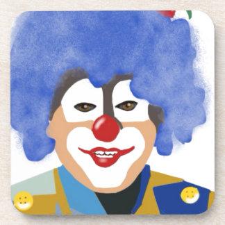 Happy Clown Beverage Coasters