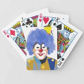 Happy Clown Bicycle Card Deck
