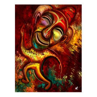 Happy Clown by rafi talby Postcard
