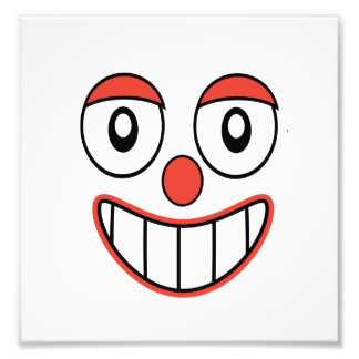 Happy Clown Cartoon Drawing Photo