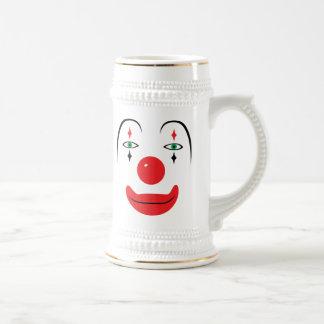 Happy Clown Face Coffee Mugs