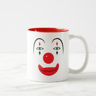 Happy Clown Face Mugs