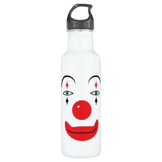 Happy Clown Face 710 Ml Water Bottle