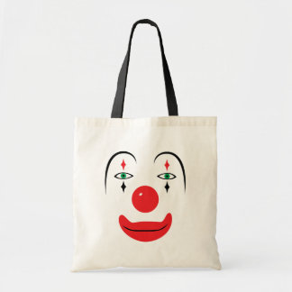 Happy Clown Face Budget Tote Bag