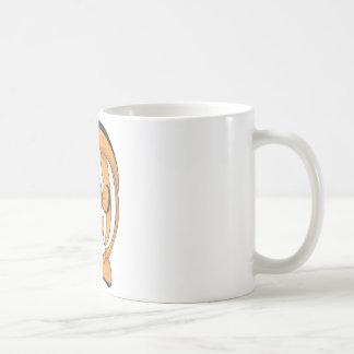 Happy Clown Fish Basic White Mug